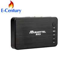 MANYTEL Media Player Hdd 1080P USB External Hdd Media Player With HDMI VGA SD Support MKV H.264 RMVB WMV Media Player(China)