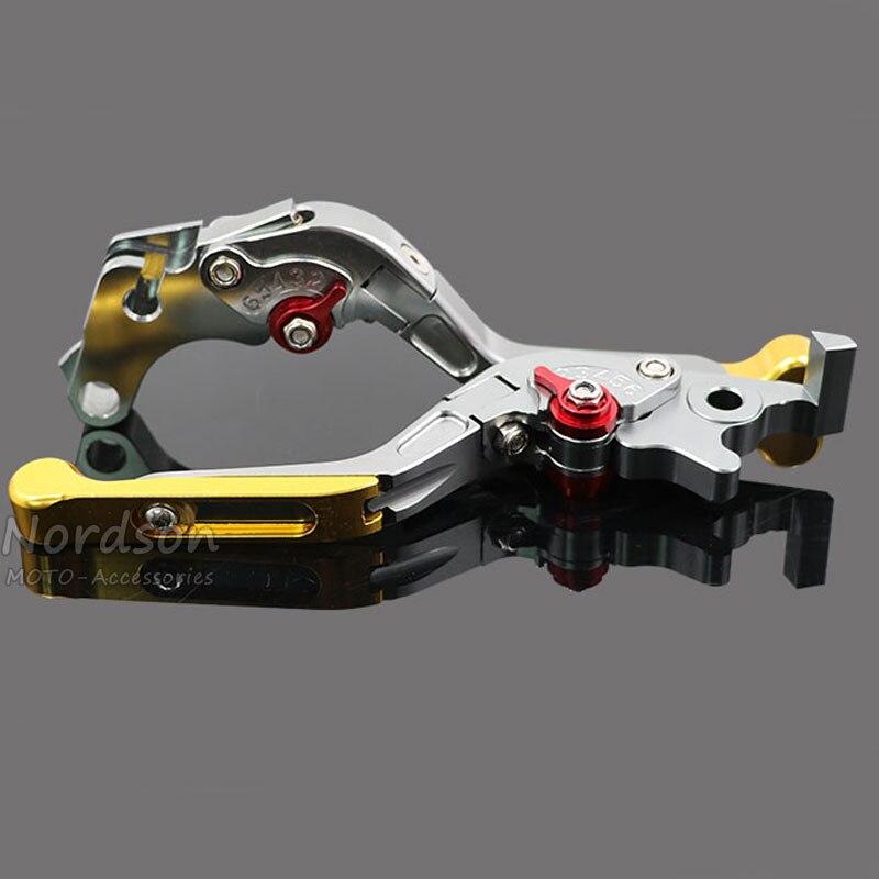 One Pair Folding&amp; Extending Motorcycle Brake Clutch Levers For KTM DUKE 125 DUKE 200 DUKE 390<br>