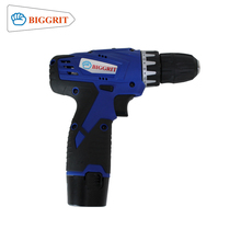 BIGGRIT 16.8V Cordless Drill 2 Lithium-ion Battery Portable Drill impact electric wireless drill tool set