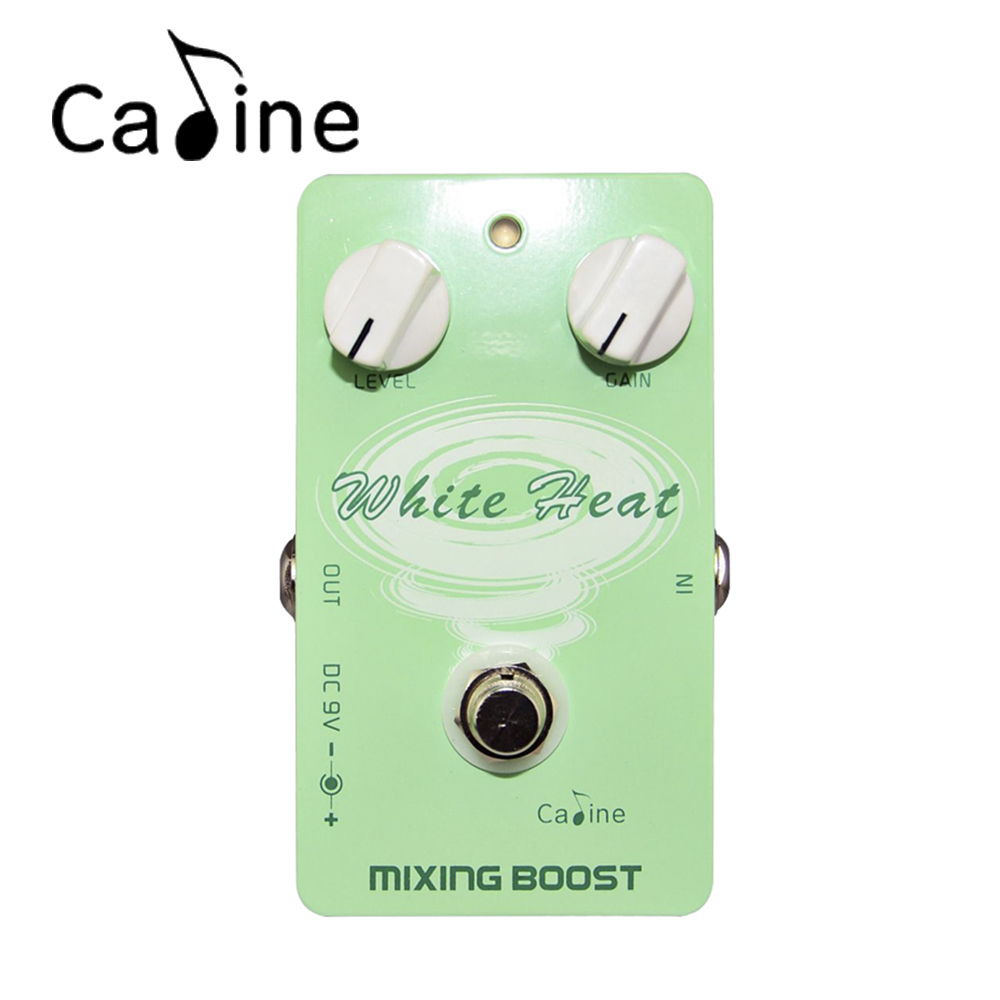 Caline CP-29 Guitar Effect Pedal Mixing Boost White Heat True Bypass Design<br><br>Aliexpress