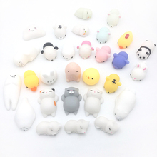 Soft Toy Collection Stress Reliever Hand Practical Funny Novelty Toy Antistress Ball Cute Mini Animal