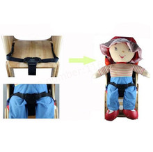 baby chair safet belt child dining table Child tricycle baby stroller dining chair bandage buggiest three point safety belt