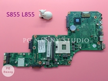 ONLY for i5 i3 Cpu V000275350 6050A2509901 mainboard for Toshiba Satellite S855 L855 Intel Laptop Motherboard s989 hm76 GMA HD