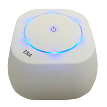 Home Desktop Portable Air Purifier Formaldehyde Smoke Dust Cleaner Mini Negative Ion Sterilizer Air Purifier With Bluetooth(China)
