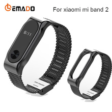 Buy Metal Strap Xiaomi Mi Band 2 Screwless Stainless Steel Bracelet MiBand 2 Wristbands Replace Accessories Mi Band 2 for $7.99 in AliExpress store