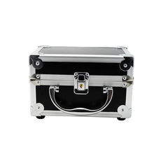 Dentist Dental Surgical Medical Binocular Loupes Optical Glass Loupe Led Head Light Lamp Aluminum Tool Box Case Container
