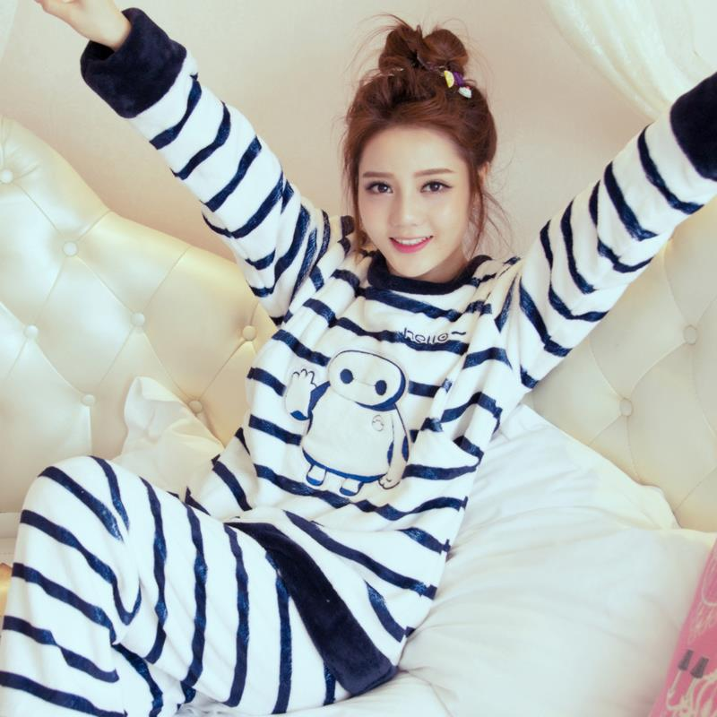 2017 new 100% cotton maternity sleepwear suit pregnant pajamas nursing tops+pants breast feeding nightgown clothes for pregnant<br><br>Aliexpress