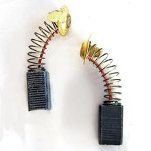 10Pcs Motor Carbon Brushes For BOSCH NEFF for SIEMENS WASHING MACHINE 15x10x6mm
