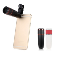 Telephoto External Smartphone Camera Lens 12X Zoom Mobile Phone Telescope Lens Universal Clip for iPhone For Sumsung For Huawei