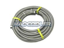 AN10 Double Soft Stainless Steel Braided Hose,modified car oil cooler tubing knitted net high temperature resistance car tubing(China)