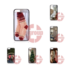 Mobile Phone Case Cover nice Christmas socks For Samsung Galaxy S2 S3 S4 S5 S6 S7 edge mini Active Ace Ace2 Ace3 Ace4