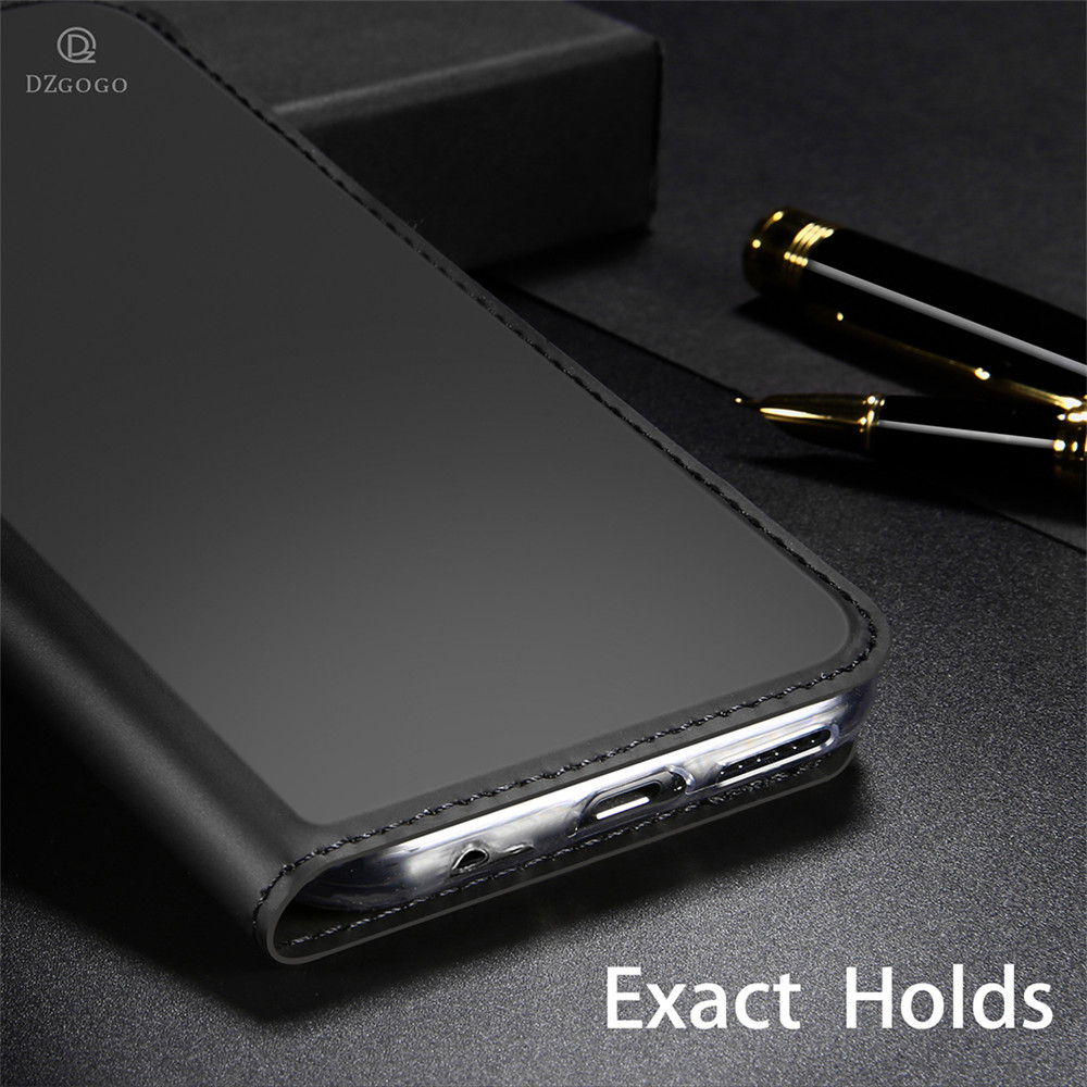 Leather Case For Asus Zenfone 5z ZS620KL Luxury Thin Flip Stand Wallet Cover For Asus Zenfone 5 ZE620KL Case4