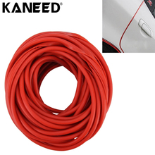 KANEED Car Moulding Trim Strip Car Door Scratch Protector Chrome Moulding Trim Styling Strip 5m PVC Door Window Sealants(China)