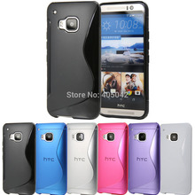 Buy Free S Wave Soft GEL Rubber Case Silicone Phone Cover Ultra Thin Slim Flexible Skin Case HTC One M9 2015 for $1.15 in AliExpress store
