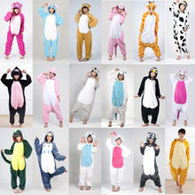 Adult Women Unicornio Costumes Pajamas Set Cosplay Cartoon Animal Sleepwear Tiger Bear Panda Star Unicorn Pikachu - FashionDesigner Store store