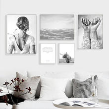 Nordic Poster Abstract Wall Art Canvas Painting Nordic Cuadros Decoracion Posters And Prints Canvas Pictures No Poster framed(China)