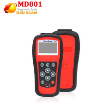 2017 Maxidiag Autel MD801 code reader scanner for OBD1 OBDII protocol MD 801 one year warranty(China)