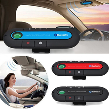 2017 Sun Visor Bluetooth 4.1 Car Kit Handsfree Speakerphone Hands Free V4.1 EDR DSP Support Siri English Spanish French Italian(China)