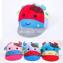 2015 New Boy Girl Toddler Infant Baby Kid kids Cute Casquette Sports Uniisex Sun Hat Cap Four Colors(China)