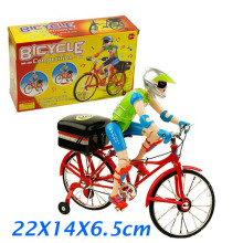 Flashing Plastic Toy Bike Mountain Bike Toys for Children Mini Bike Toys Electronic Children Toys for Christmas Gifts XQ04(China)