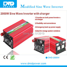 China Biggest Supplier Aluminium 2KW Power Inverter With Charger Made in China