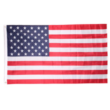 New 90cmx150cm Polyester USA American Flag US United States Stars Stripes(China)