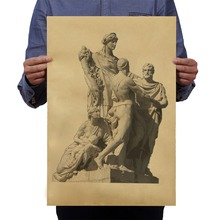 Very Precious Photos Ancient Greek Gods Angel Gypsum Pattern Vintage Poster Retro Kraft Paper Adornment Movie Posters Decoration