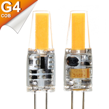 G4 LED COB Lamp Bulb G4 Lampada LED AC/DC 12V 220V 3W COB SMD LED Lighting Replace Halogen G4 LEDs Bulb Lights For Chandelier(China)