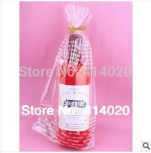 Towel Gift Package Cake Towel.100% Cotton Christmas GiftsWine Bottle Shape Design Towel Wedding Gift