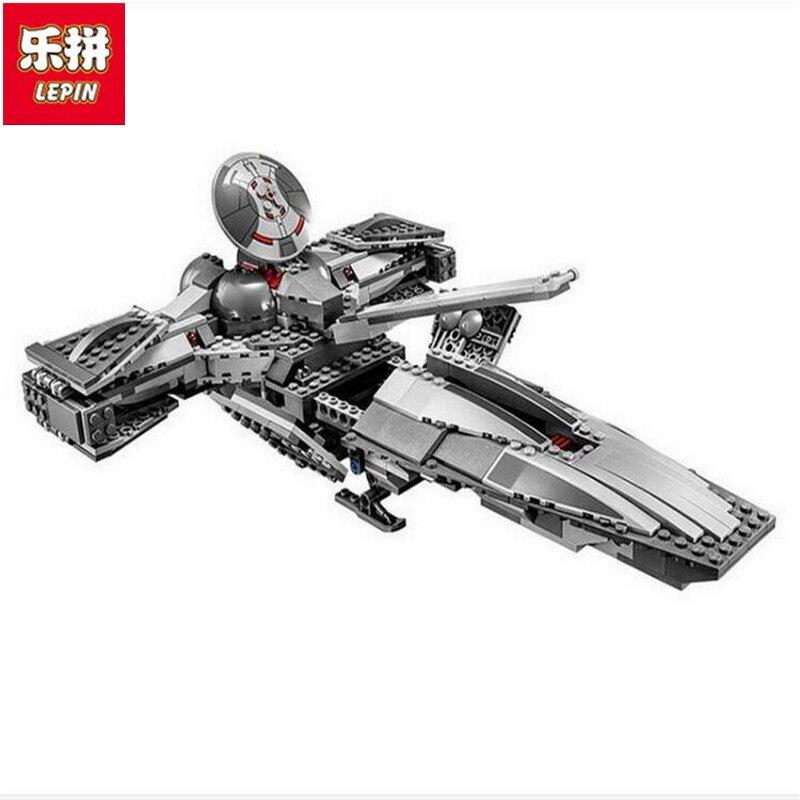 Lepin 05008 698 pcs StarWars 7 The Force Awaken Infiltrator 5 Figures Building Block Compatible 75096<br>
