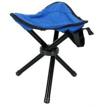1 pc Outdoor Camping Tripod Folding Stool Chair Fishing Foldable Portable Fishing Mate Chair