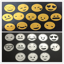 Buy 13pcs/Set Emoji Metal Steel Cutting Dies Stencils Embossing DIY Scrapbooking Paper Card Photo Album Decoration Craft Die Cuts for $2.02 in AliExpress store
