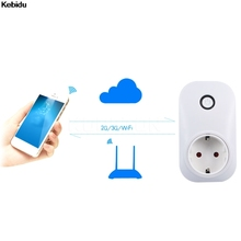 EU US wifi power socket plug outlet cell phone Wireless Controls for iphone ipad Android smart home domotica
