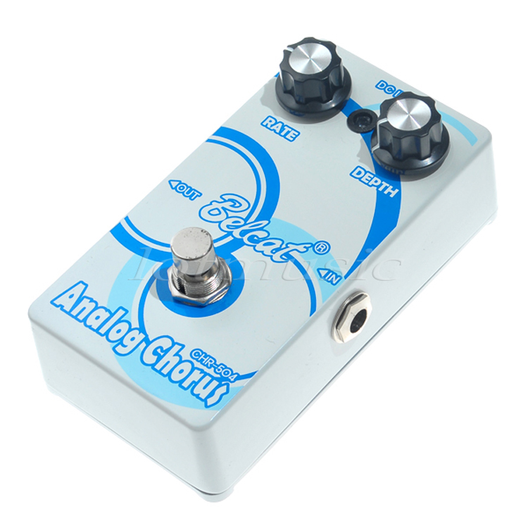 Effect Pedal Chorus Belcat CHR-504 Guitar Basss Chorus Side Tone Single Effect Analog ROHS<br>