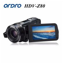 "Ordro Digital Video Camera HDV-Z80 1080P Portable Full HD 10x Optical Zoom 3.0"" Touch Screen Camcorder with Remote Control(China)"