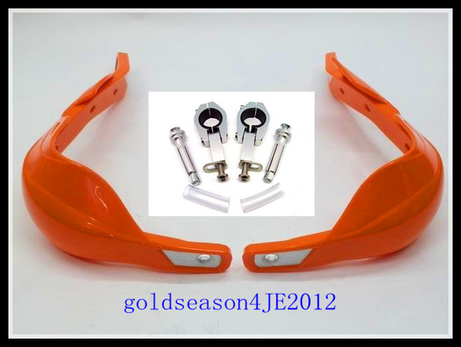Orange Fat Bar Handguards Raptor 1 1/8  28mm mounting kit Motorcycle  handlebar for  BMW G 450 650GS F 650GS 800GS R 1200 GS<br><br>Aliexpress