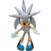 6pcs/lot Silver 32cm Classic Super Sonic the Hedgehog Plush Toys Knuckles 25th Anniversary Tails Soft Stuffed Animal Dolls(China)
