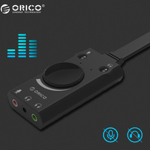 ORICO Portable Microphone Earphone Two-in-One with 3-Port Output Volume Adjustable For Windows/Mac/Linux(China)