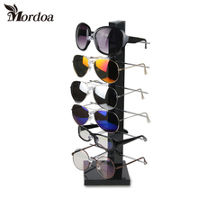 2017 Selling 6 Layers Shape Display Stand for Glasses Sunglass jewelry Display Holder 3D Glasses Frame Plastic and Metal Holder