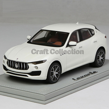 * White BBR Resin Model Car for 1:18 Maserati Levante Luxury SUV Resin Toys Gifts Collection Minicar