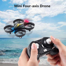 New Mini Remote Control RC Four-Axis Aircraft 2.4G UAV Drone Pocket Children's Plane Hobby Model Toys(China)