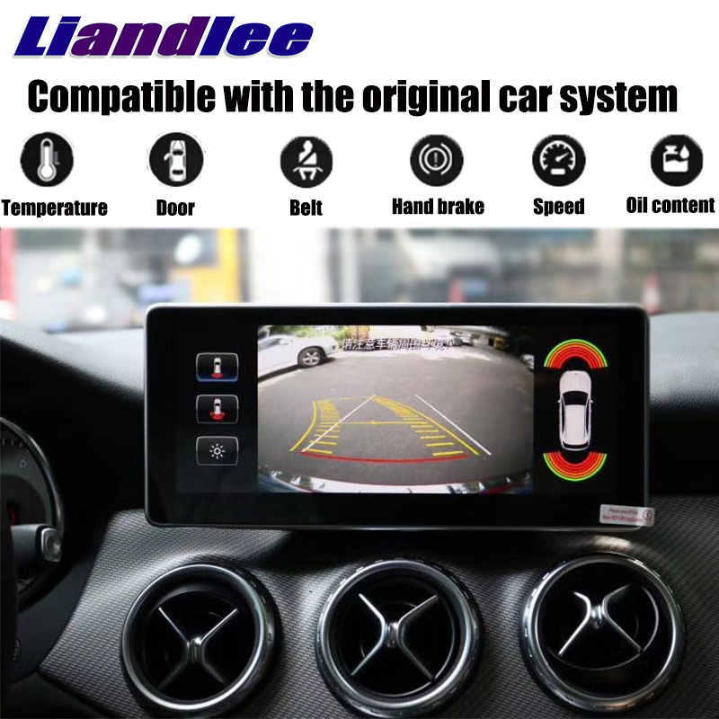 Liandlee Car Multimedia Player NAVI For Mercedes-Benz MB GLA Class X156 2014~2018 Car Radio Stereo GPS Navigation 2