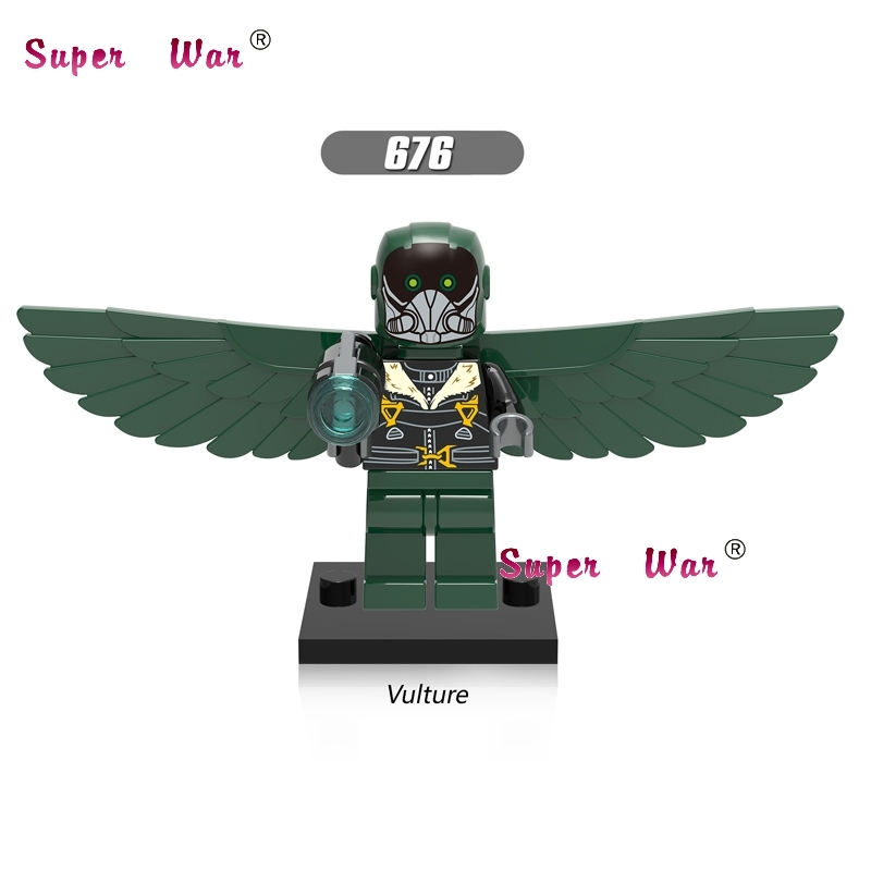 5Star wars super heroes Marvel Spider-Man Homecoming Vulture building blocks bricks friends hobby model kits toys boys  -  5A Toys Top Service Provider store