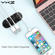 Ykz Cable Clips & Cord Management System: Desktop Cable Organizer & Computer, Electrical, Charging or Mouse Cord Holder Y6(China)