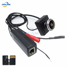 HQCAM Wide Angle Audio Micro TF SD Camera 960P POE Mini IP Camera Home Security Camera Indoor CCTV IP Kamera POE Mini POE Camera(China)