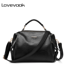 LOVEVOOK brand luxury handbags female casual tote bag high quality artificial leather shoulder bags women designer purse handbag