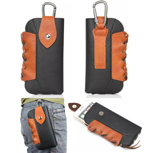 Leather Pouch Belt Clip Hook Loop Protective Phone Case Cover Bag Holster For Prestigio Grace Q5 PSP5506 5506 DUO(China)