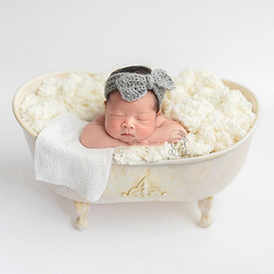 multifunction fill with water iron shower bathtub newborn Photography Props shooting baby bathtub  creative lovely  prop