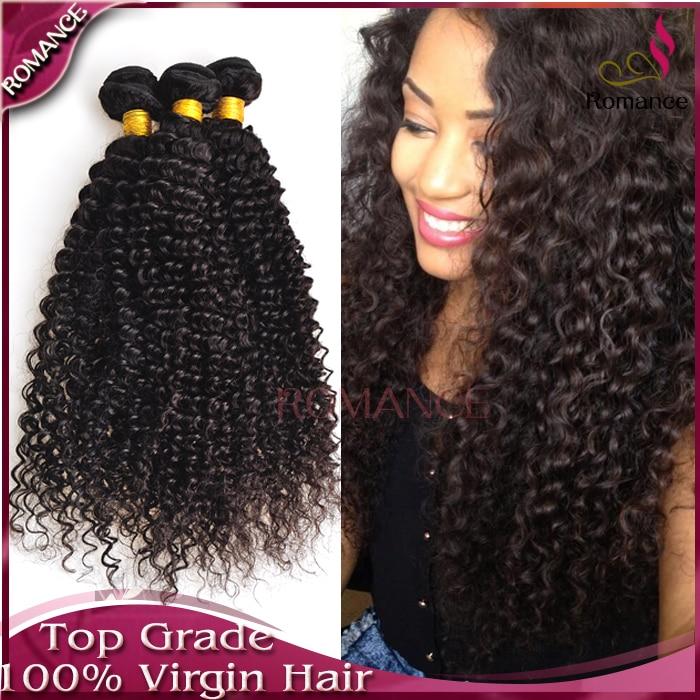 Romance 6A Malaysian Deep Curly Virgin Hair 3pcs/lot Malaysian Curly Hair Natural Color Black Kinky Curly Virgin Hair<br><br>Aliexpress
