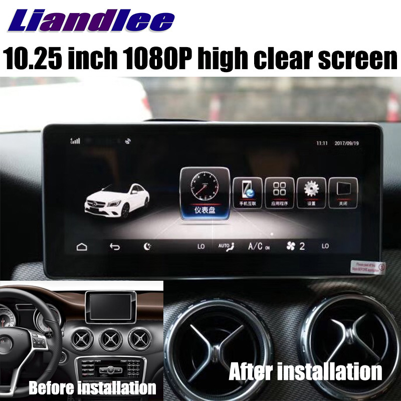 Liandlee Car Multimedia Player NAVI For Mercedes-Benz MB GLA Class X156 2014~2018 Car Radio Stereo GPS Navigation 1